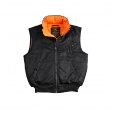 Alpha Industries MA-1 Vest - fekete