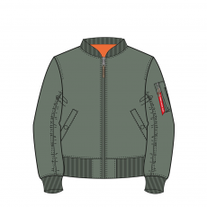 Alpha Industries MA-1 VF 59 - vintage green