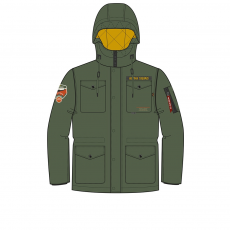 Alpha Industries Mountain All Weather Jacket - sage green