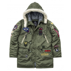 Alpha Industries N3-B PATCH - sage green