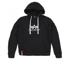 Alpha Industries New Basic Hoody - fekete kapucnis pulóver