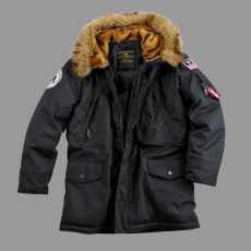 Alpha Industries Polar Jacket Down - fekete