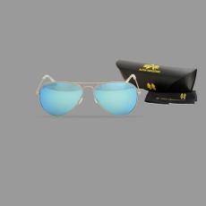 Alpha Industries Top Gun M napszemüveg - ezüst/kék