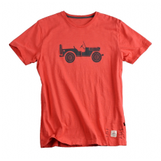 Alpha Industries Willys T - spicy red