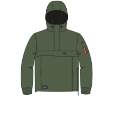 Alpha Industries WP ANORAK - dark green
