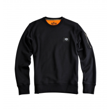 Alpha Industries X-Fit Basic Sweat - fekete férfi edzőruha