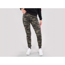 Alpha Industries X-FIT SWEAT CARGO PANT Női - wood camo