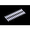 Alphacool Eiskamm X24 - 3 mm átlátszó kábelfésű  - 2 db /24748/