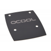 Alphacool NexXxos GPX Solo Cover Metall - Black Nickel /12449/
