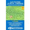 Alpi Feltrine, le Vette, Cimňnega térkép - 023 Tabacco