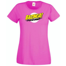 Altpaer Agymenők - Bazinga Női rövid ujjú póló - Több színben női póló