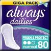Always Fresh&Protect Normal intimbetét 80 darabos