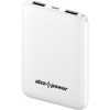 AlzaPower Onyx 5000mAh, fehér