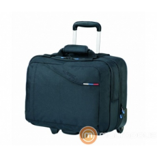 American Tourister Rolling Tote Black/At Business III