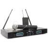amics PD732C, 2 x 16 csatornás UHF vezeték nélküli mikrofon rendszer