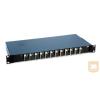 "AMP 19"" SC optikai panel, 12db duplex MM toldóval (300mm fiókos) fekete (4-1206138-4)"