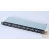 AMP Cat.6 STP 24 portos AMPTRAC Ready! patchpanel, 1U, fekete (1644042-2)