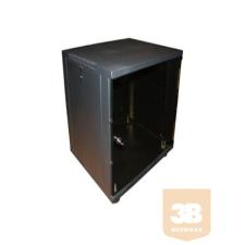 AMTECH RA-45-1200 12U 540x580 450 mély fali rack szekrény szerver