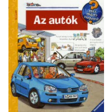 Andrea Erne Az autók gyermek- és ifjúsági könyv