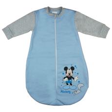 Andrea Kft. Disney Mickey mókusos, belül bolyhos, hosszú ujjú hálózsák 2,5 TOG