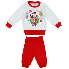 Andrea Kft. Disney Minnie karácsonyi mintás pizsama