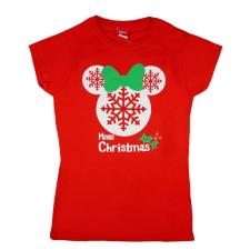 Andrea Kft. Disney Minnie karácsonyi női póló 23327041205 női póló
