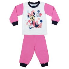 Andrea Kft. Disney Minnie lányka pizsama (méret: 86-116)
