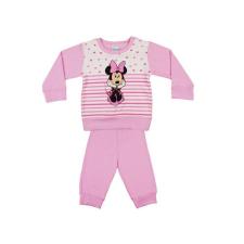 Andrea Kft. Disney Minnie lányka pizsama szíves| csíkos 20620045092 gyerek hálóing, pizsama