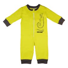 Andrea Kft. Krokodilos overálos pizsama 92 Zöld gyerek hálóing, pizsama