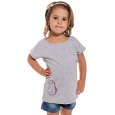 Andrea Kft. Mini&Me kislány rövid ujjú póló Avokádó mintával