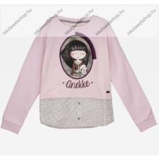 Anekke gyermek pulóver, rózsaszín, 5-6 év (RH6138) gyerek pulóver, kardigán