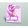 Angry Birds Iskolai füzet, 3.oszt. vonalas [12-32], A5, 32 lap, ANGRY BIRDS MOVIE - Hippie Chick