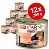 Animonda Carny Kitten 12 x 200 g - Marha & pulykaszív
