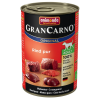 Animonda GranCarno Original Adult 6 x 400 g - Marha, szarvas & alma