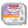 Animonda Integra Protect Adult Diabetes tálcás 6 x 100 g - Szárnyas
