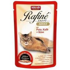 Animonda Rafine Soupé Adult – Pulyka- és borjúhús sajtos szószban (12 x 100 g) 1.2kg macskaeledel