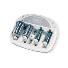 Ansmann Basic 5 Plus elem és akkumulátor