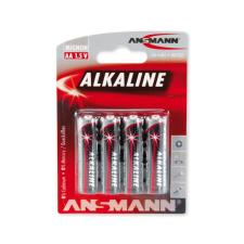 Ansmann LR6 AA RED - 4db alkáli elem 1,5V ceruzaelem