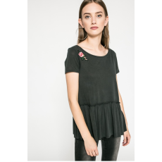 ANSWEAR - Top Blossom Mood - fekete - 1022498-fekete