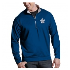 Antigua Toronto Maple Leafs fĂŠrfi kabát blue Royal 1/4 Zip Pullover Jacket - S