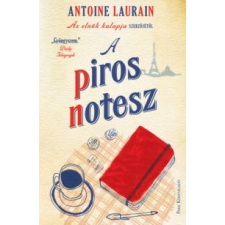 Antoine Laurain A piros notesz irodalom