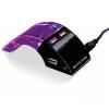 Antonio Miro 4 Portos USB Hub Antonio Miró LED 147019, Fekete