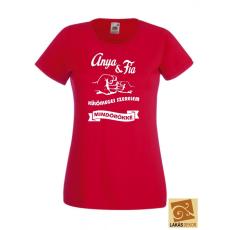 Anya Fia különleges szerelem női póló
