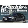 AOSHIMA - Toyota 86 ZN6 Greddy & Rocket Bunny Volk Racing Version 2012