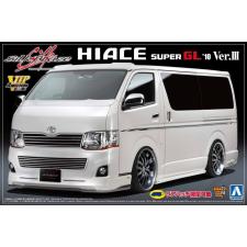 AOSHIMA - Toyota Silkblaze Hiace 200  2010 Version 3 rc autó