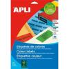 APLI 105x37 mm kék Etikett (100 lap)