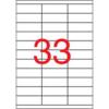 APLI 70x25,4 mm univerzális Etikett (500 lap)