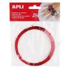 """APLI Drót, színes, APLI """"Kids"""", piros (LCA14097)"""