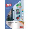 APLI Etikett, hűtőmágnes, 210x297 mm,