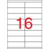 APLI Etikett, univerzális, 105x35 mm, APLI, 1600 etikett/csomag
